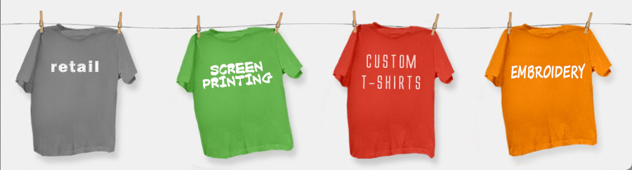 The Junkyard Store - Custom t-shirts and screenprinting